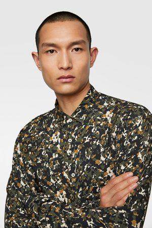 Zara Hemd mit tarnmuster
