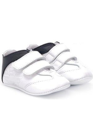 Armani Sneakers mit Klettverschluss