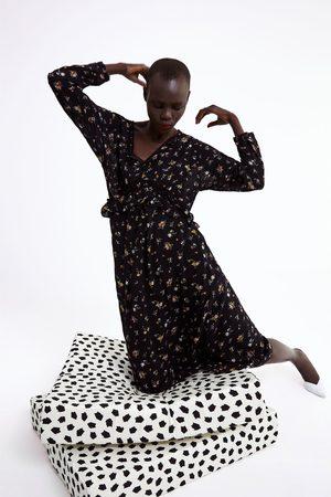 Zara Kleid mit blumenprint