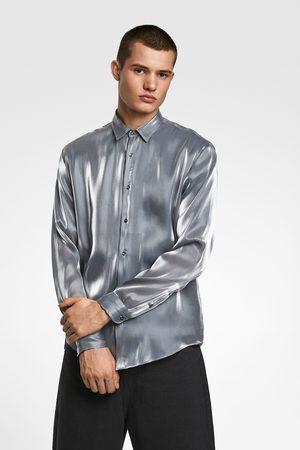 Zara Hemd mit laméfäden