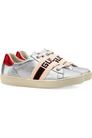 Gucci Ace' Sneakers mit Gucci-Streifen