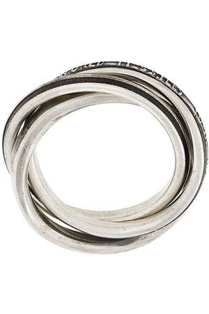 WERKSTATT:MÜNCHEN Ringe - Mehrfachring aus Sterlingsilber
