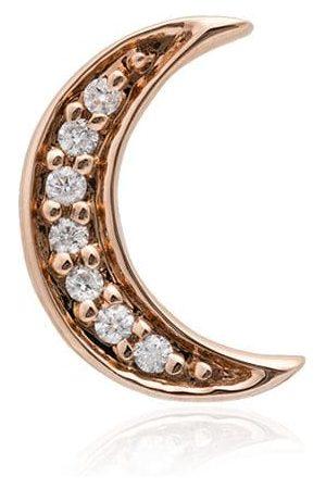 Andrea Fohrman 14kt 'Crescent Moon' Rotgoldohrstecker mit Diamanten