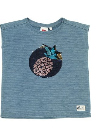 American Outfitters Verziertes T-shirt Aus Baumwolljersey