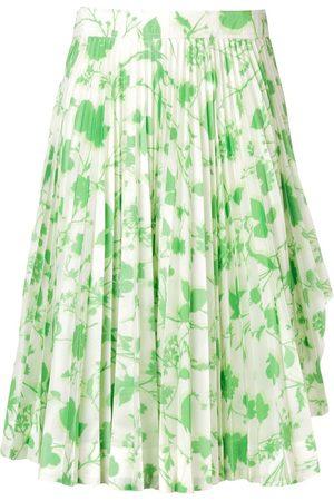 Calvin Klein 205W39nyc Plisseerock mit Blumen-Print