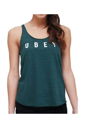Obey Tank Top Anyway Spruce Canotta Verde
