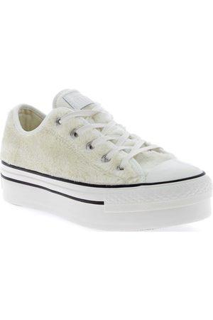 Converse Mädchen Sneakers - Kinderschuhe Ctas Platform Ox Egret Bianche