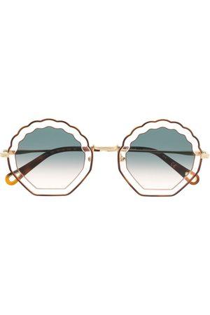 Chloé Sonnenbrille in Schildpattoptik