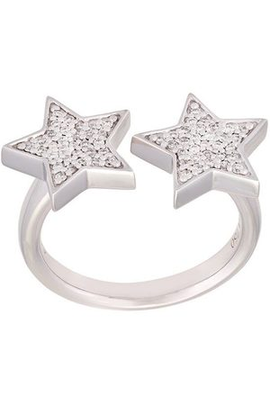 Alinka 18kt 'Stasia' Weißgoldring mit Diamanten