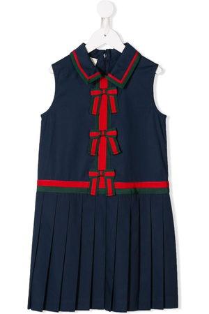 Gucci Mädchen Freizeitkleider - Kleid mit Schleifendetail