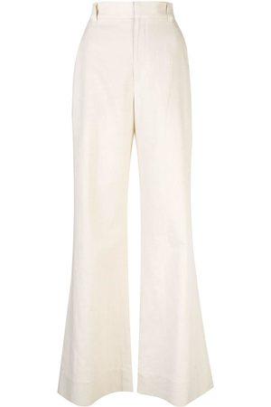 Brunello Cucinelli Damen Hosen & Jeans - Schlaghose mit hohem Bund