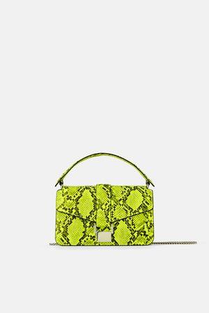 Zara Mini-citytasche mit animalprint