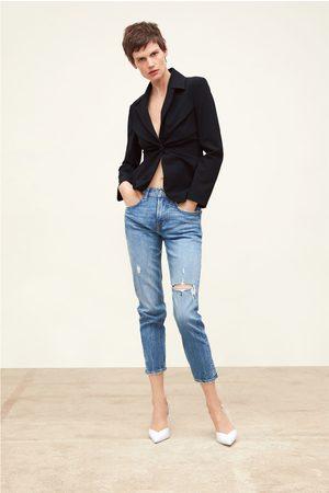 Zara Damen Baggy & Boyfriend - Boyfriend-jeans zw premium im slim-fit