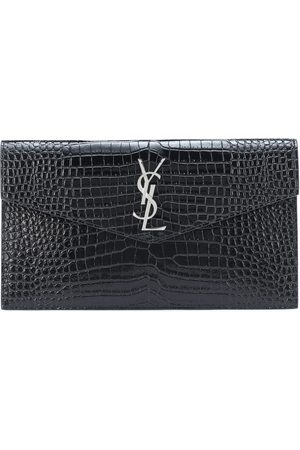 Saint Laurent Clutch Uptown aus Lackleder