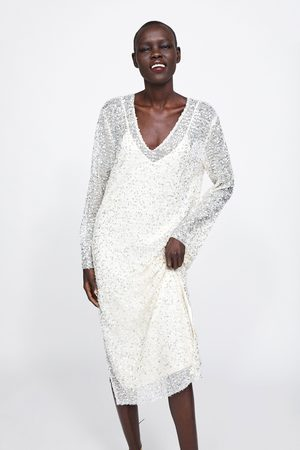 Zara Paillettenkleid