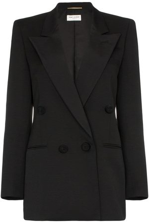 Saint Laurent Doppelreihiger Smoking-Blazer