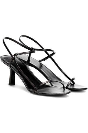 The Row Sandalen Bare aus Leder