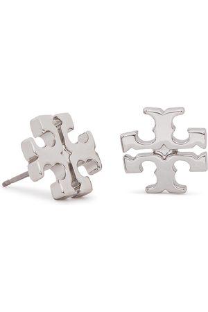Tory Burch Ohrringe - Logo Stud Earring 11165504 Tory Silver 022