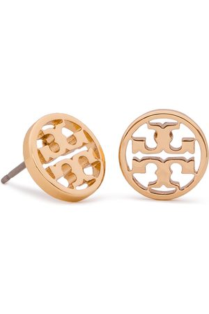 Tory Burch Ohrringe - Logo Circle Stud Earring 11165518 Tory Gold 720
