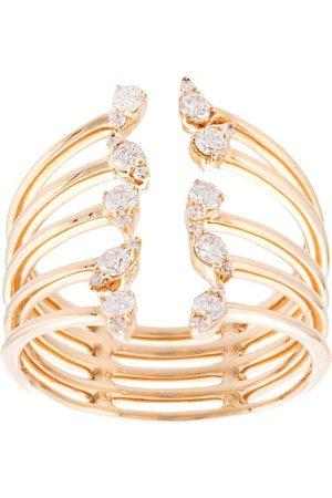 Dana Rebecca Designs Damen Ringe - 14kt 'Sophia Ryan' Cocktailring aus Gelbgold mit Diamanten