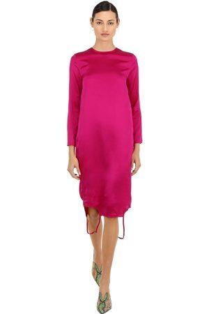 MARQUES'ALMEIDA Kleid Aus Seidnesatin