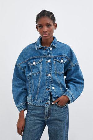 Zara Oversize-jeansjacke