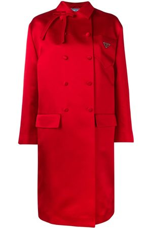 Prada Doppelreihiger Mantel