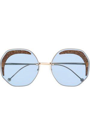 Fendi Geometrische Sonnenbrille