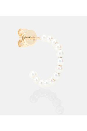 SOPHIE BILLE BRAHE Einzelner Ohrring Marco aus 14kt Gold mit Perlen