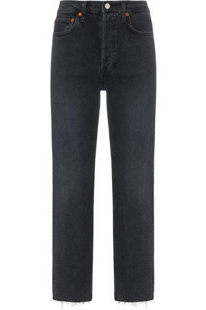 RE/DONE Jeans mit ungesäumten Kanten