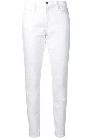 Frame Tief sitzende Skinny-Jeans