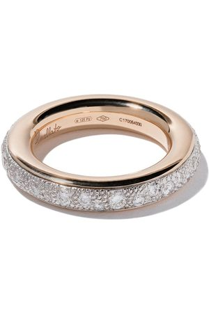 Pomellato 18kt 'Iconica' Rotgoldring mit Diamanten
