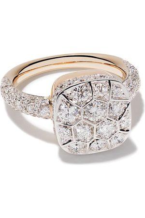 Pomellato 18kt 'Nudo' Rot- und Weißgoldring mit Diamant