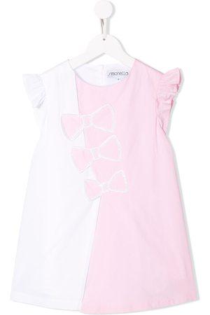 Simonetta Kleid mit Schleifen-Print