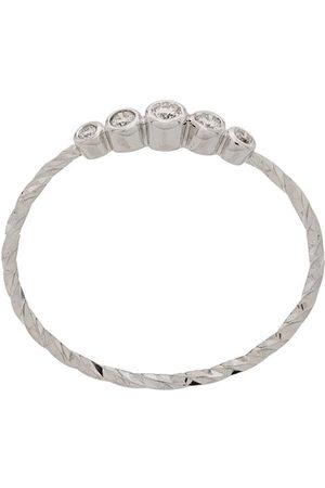 Maria Black 14kt 'Ally' Weißgoldring mit Diamanten