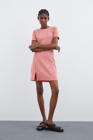 Zara Kariertes kleid