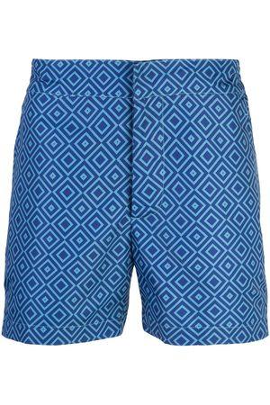 Frescobol Carioca Shorts mit geometrischem Print