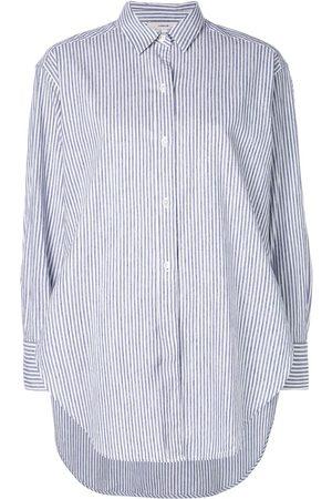 Vince Damen Blusen - Hemd mit kastigem Schnitt