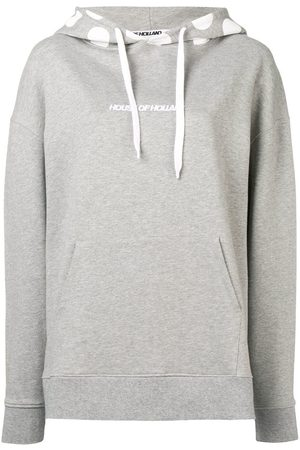 House of Holland Gepunkteter Kapuzenpullover