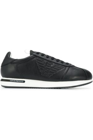 Emporio Armani Sneakers mit Applikation