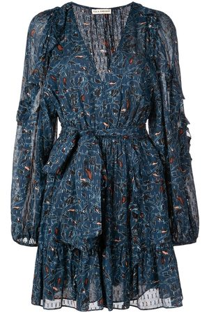 ULLA JOHNSON Minikleid mit Print