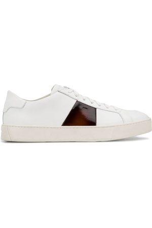 santoni Sneakers mit Kontraststreifen