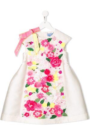 Mimisol Kurzes Kleid mit Blumen