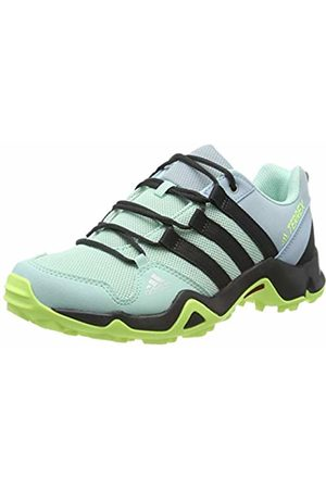 adidas Unisex-Kinder Terrex Ax2r K Walkingschuhe Clear Mint/Carbon/Hi/Res Yellow