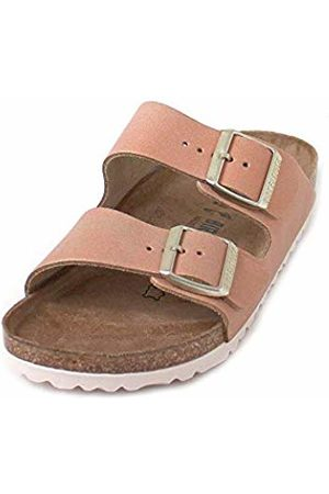 d6c9921f7ac606 Birkenstock Damen Arizona Sandalen Washed Metallic Sea Copper