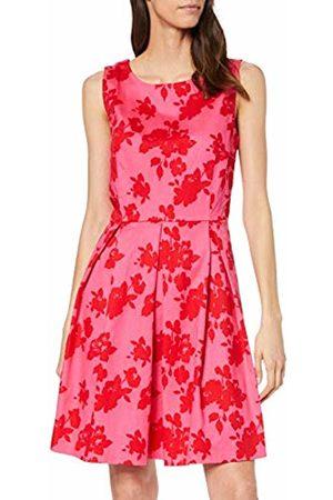 Tom Tailor Für Frauen Kleider & Jumpsuits Kleid mit Blumenmuster