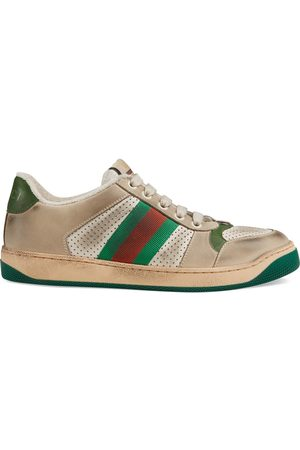 Gucci Screener Damen-Sneaker aus Leder