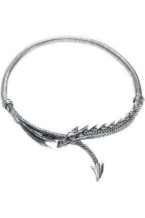 Alchemy Dragons Lure Necklace Halskette silberfarben