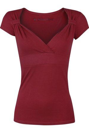 Fashion Victim Fashion V-Top T-Shirt bordeaux