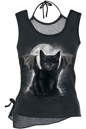 Spiral Bat Cat Top